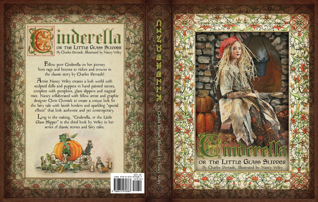 Cinderella book cover