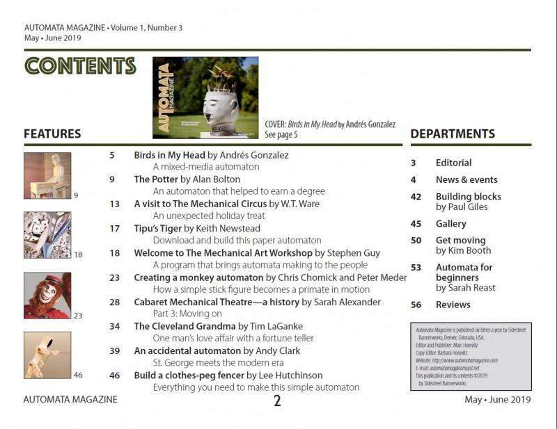 automata magazine
