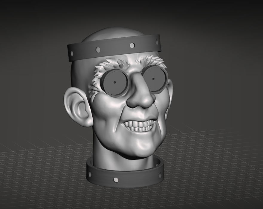 3D Sculpt using ZBrushCore