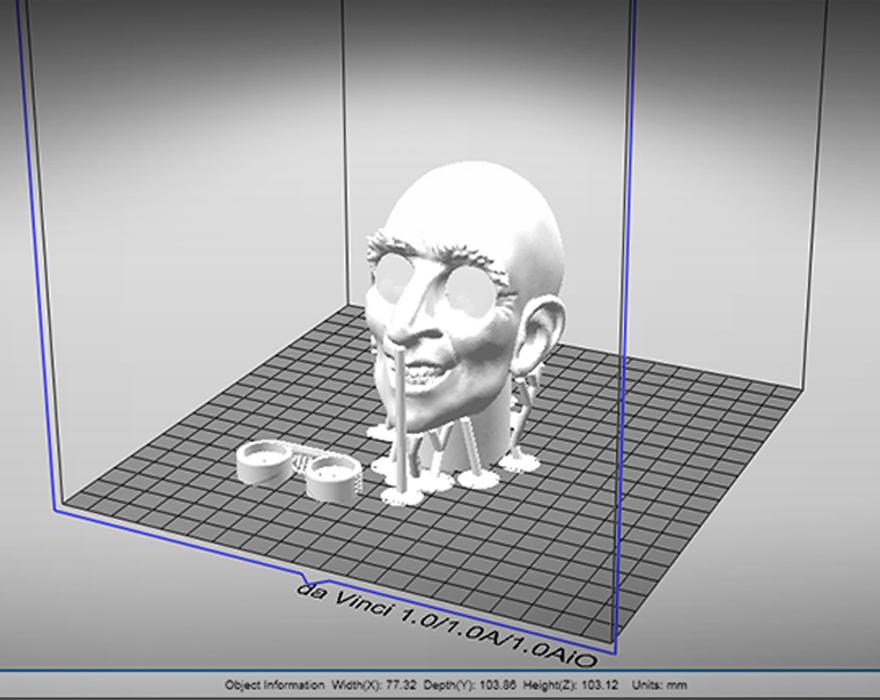 3D model - slicing
